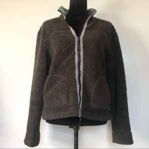 Horny Toad Size Large Womens Jacket Fleece Sherpa